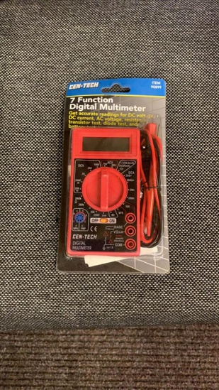 New 7 function digital multimeter