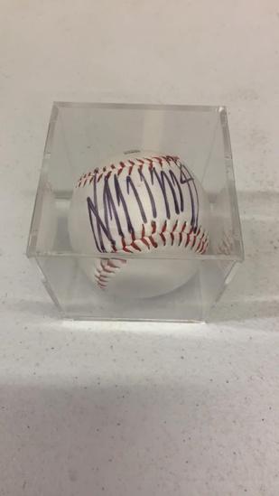 Donald Trump signed baseball