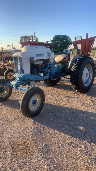Ford 4000 Propane Tractor