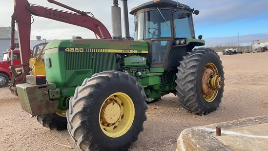 JD 4850 MFWD Tractor