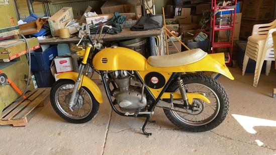 Wards Riverside motorcycle.