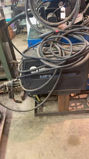 Miller S-22P12 wire Welder