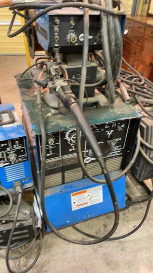 Miller Shopmaster power source & S-54A Wire Feeder