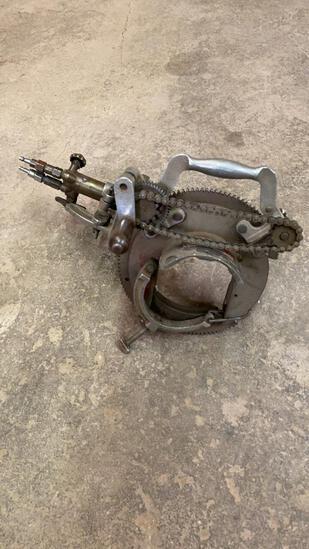 "Mathey MSA 4"" pipe bevel machine W/Torch head"
