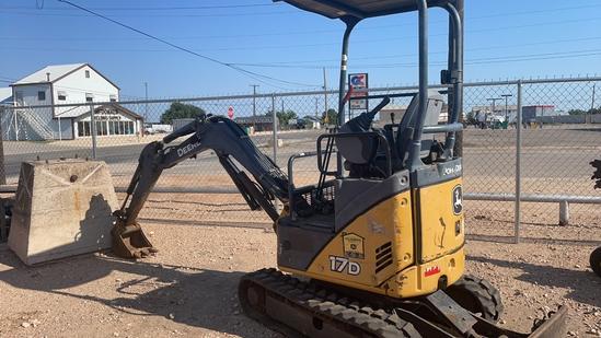 JD 17D Mini Excavator