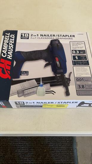 CH 18ga 2-in-1 nailer/stapler