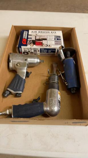 "Lot of CH 3/8"" impact, air hammer, cut off tool &"