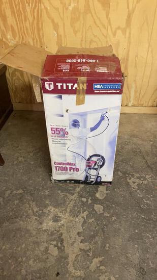 Titan 1700 Pro paint sprayer