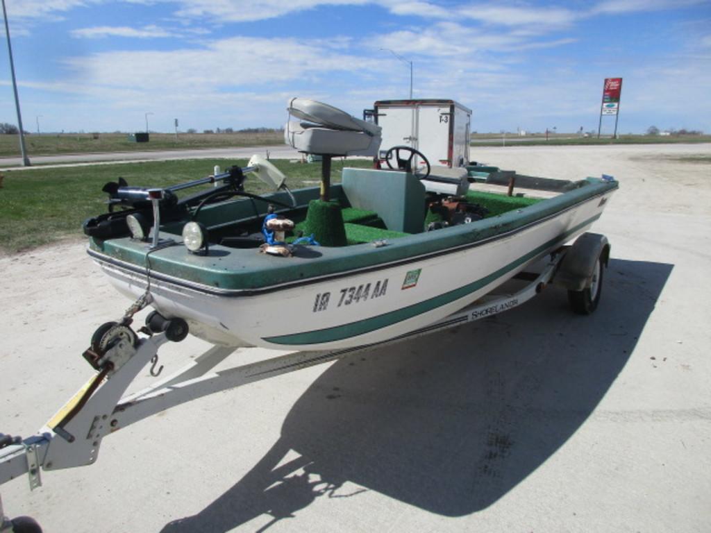 1975 16.5' Ranger 16 Boat