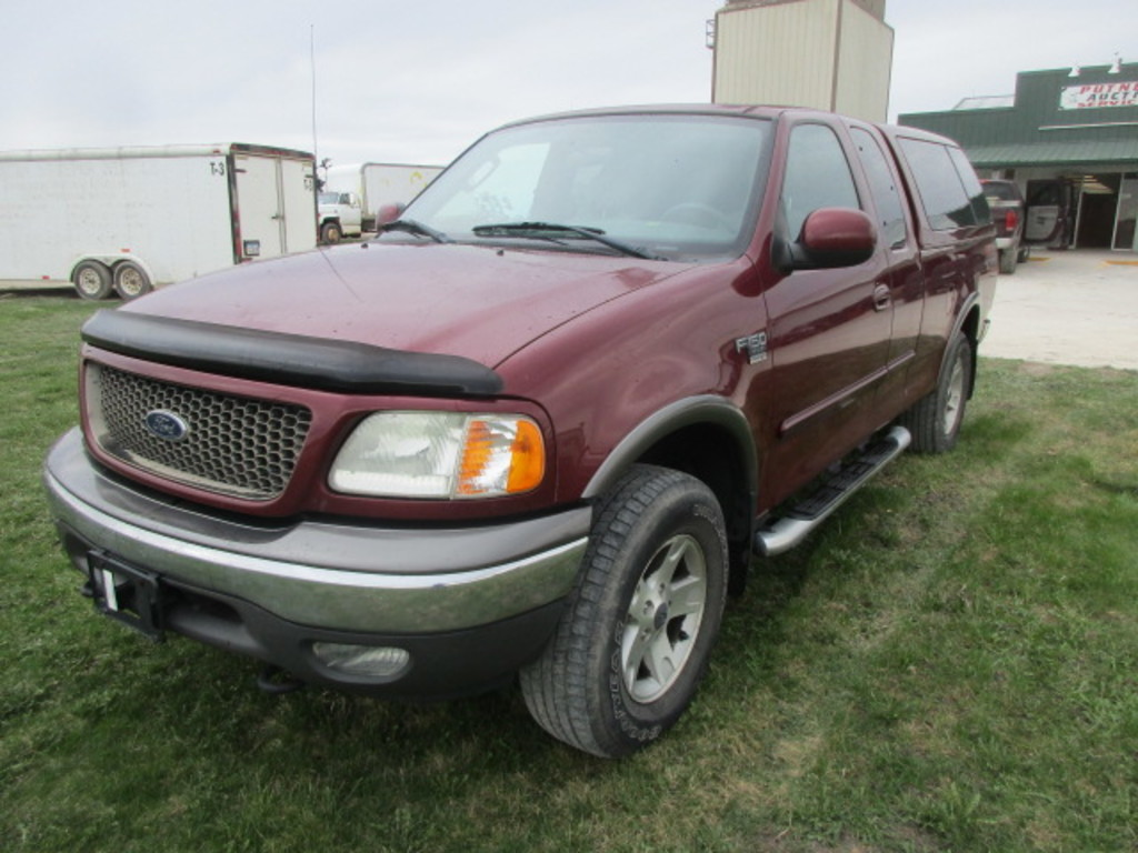 2003 Ford F150 FX4 Extended Cab Pickup