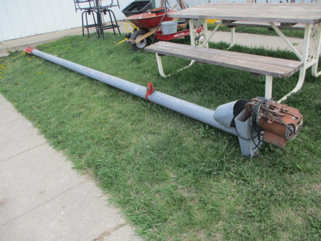 "4"" Electric Auger, 20'"