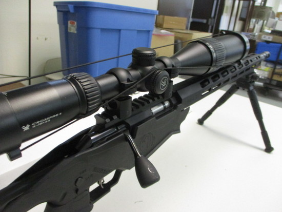 Ruger Precision Rimfire Rifle .22WMR Bolt Action