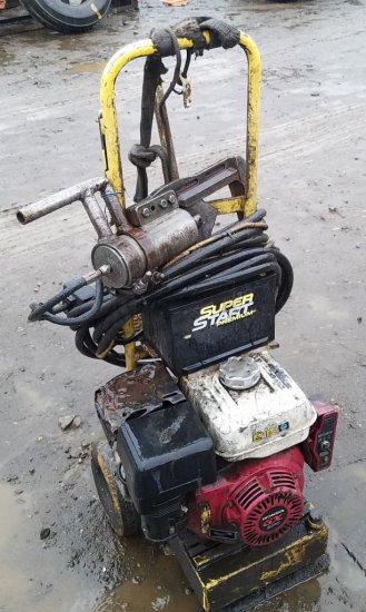 Hydraulic catalytic converter sheer