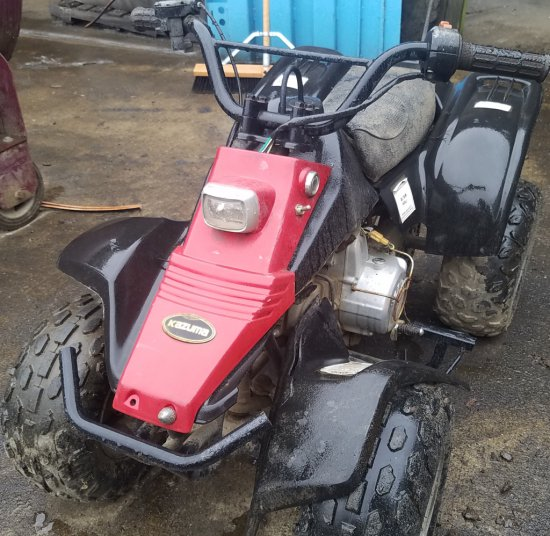 Kazuma mini 4 wheeler