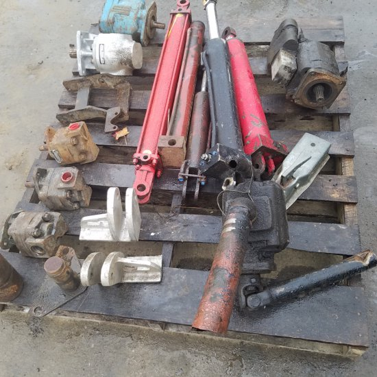 Miscellaneous pumps and cylinders