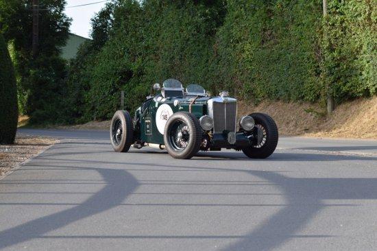 1936 MG TA Q-Type