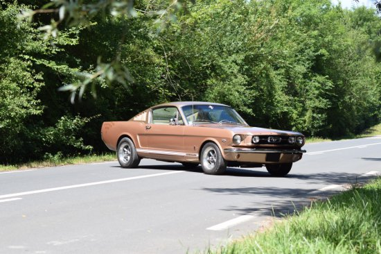 1966 Ford Mustang Fastback Code K