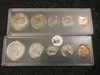 1966 and 1967 Uncirculated Mint Sets in Whitman Holders