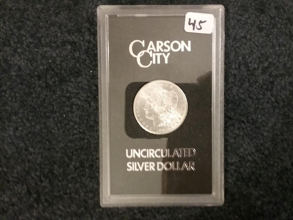 GSA 1884-CC Morgan Dollar in MS-63