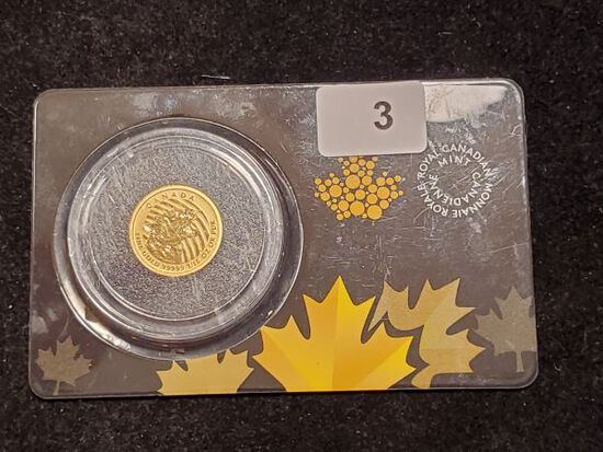 GOLD! 2016 Gold $20 Canada piece