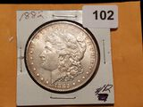 Pretty 1882 Morgan Dollar AU-BU