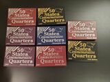 Eight Sets of 50 State Commemorative Quarters