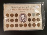 Lincoln Wheat Ear Penny Collection