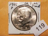 1985 Kennedy Half Dollar ERROR