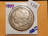 Semi-Key 1899 Morgan Dollar
