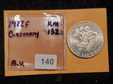 1972 silver Germany 10 marks