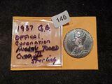 Superb GEM BU 1937 Great Britain Coronation Medal