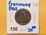 Germany - NOTGELD - Stadt Aachen - Rhineland - 25 Pfennig - 1921 - Rare Date!