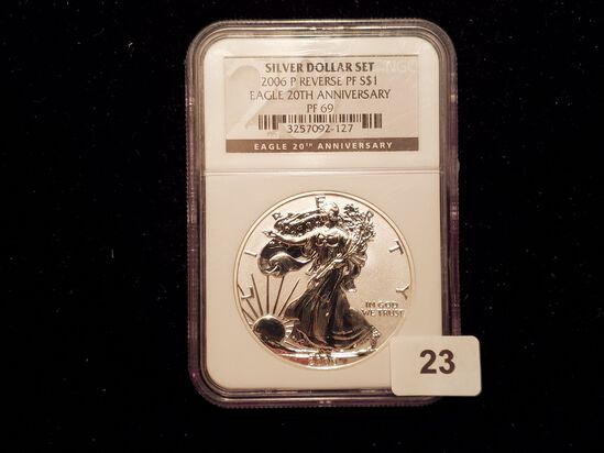 ** NGC 2006-P American Silver Eagle Reverse Proof 69