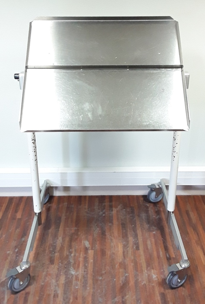 Surgical Stainless Steel Swivel Table
