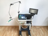 Puritan Bennett 7200 series Patient ventilator with O2 and Air flexibles