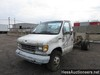 1994 FORD E350 CAB CHASSIS