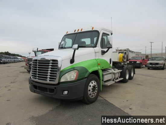 2009 FREIGHTLINER CASCADIA 125 T/A DAYCAB