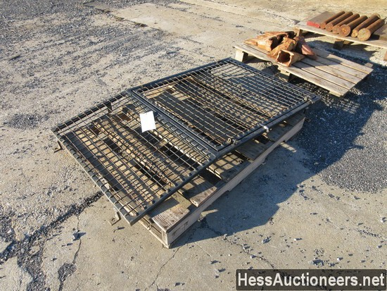 CAGE FOR FRONT OF EXCAVATOR