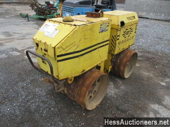 2003 WACKER RT820R TRENCH COMPACTOR