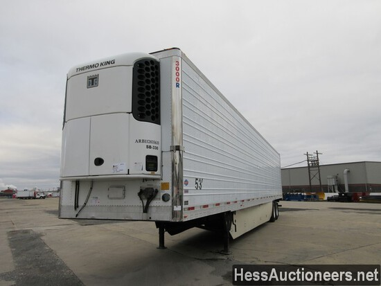 2012 UTILITY 53' REEFER TRAILER