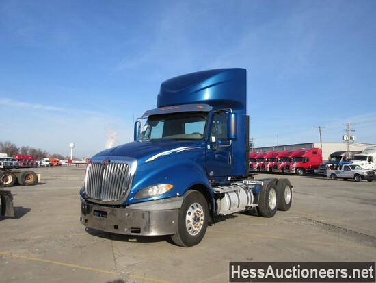 2016 INTERNATIONAL PROSTAR T/A DAYCAB, TITLE DELAY, HESS REPORT ATTACHED, 4