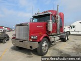 2007 WESTERN STAR 4900 T/A SLEEPER,HESS REPORT ATTACHED,  541394 MILES ON O