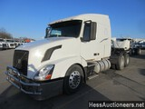 2007 VOLVO VNL64T670 T/A SLEEPER, 6 X 4 CONFIGURATION, ODOMETER REPLACED AC