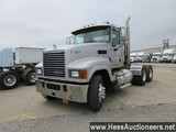 2008 MACK CHU613 T/A DAYCAB,HESS REPORT ATTACHED, 777857 MILES ON ODO, ECM