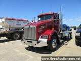 2007 KENWORTH T800 T/A DAYCAB, HESS REPORT ATTACHED, 737746 MILES ON ODO, E