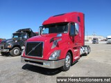 2016 VOLVO VNL64T670 T/A SLEEPER, 6X4 CONFIGURATION,  HESS REPORT ATTACHED,