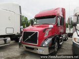 2015 VOLVO VNL62T670 T/A SLEEPER, 6X2 CONFIGURATION, HESS REPORT ATTACHED,