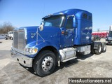 2002 INTERNATIONAL 9900 T/A SLEEPER, HESS REPORT ATTACHED, 878038 MILES ON