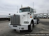 2009 KENWORTH T800 T/A DAYCAB, HESS REPORT ATTACHED, 606729 MILES ON ODO, E