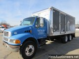 2009 STERLING ACTERRA BOX TRUCK,  HESS REPORT ATTACHED, 400335 MILES ON ODO
